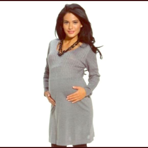 Dynashape Dresses & Skirts - New Maternity Cable Knit Dress